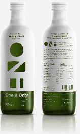 one and olive bottles